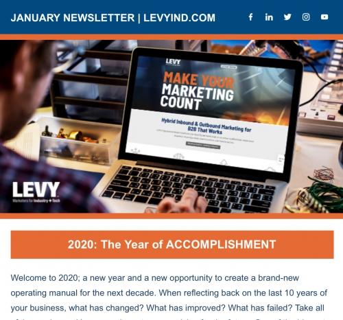 LEVY Newsletter